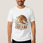 Chicana Mexico Coat of Arms T Shirt