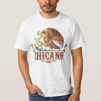 Chicano del escudo de armas de México Camisas
