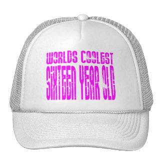 Chicas 16 años más frescos de los mundos de los cu gorra