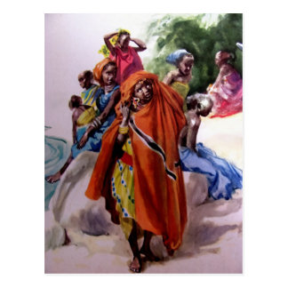 Chicas africanos tarjetas postales