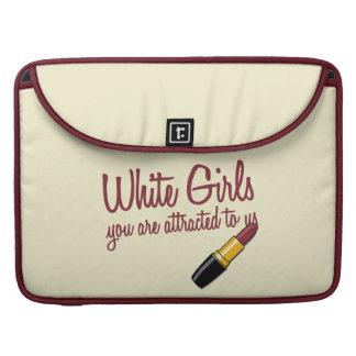 Chicas blancos funda macbook pro