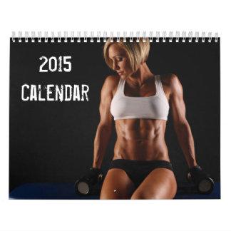 Chicas calientes de la aptitud - calendario 2015