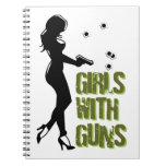 Chicas con el cuaderno de los armas