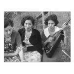 Chicas criollos en Luisiana, los años 30 Postal