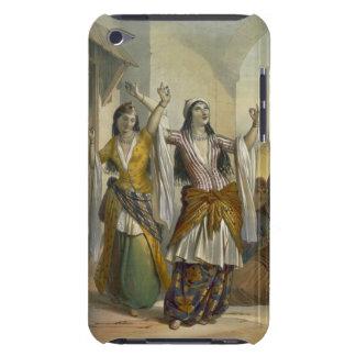 Chicas de baile egipcios que realizan el Ghawazi e Case-Mate iPod Touch Cárcasa