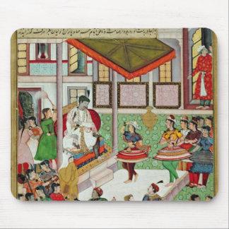 Chicas de baile tomados el palacio de Baz Bahadur  Tapete De Ratones