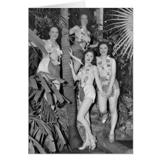 Chicas de California, los años 30 Felicitación