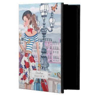 Chicas de compras en caso del aire 2 del iPad de