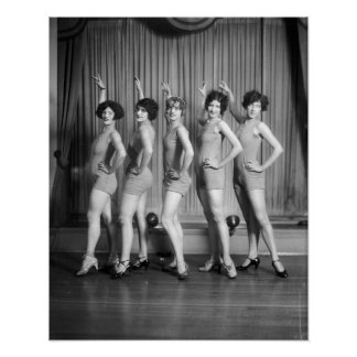 Chicas de estribillo, 1927 posters