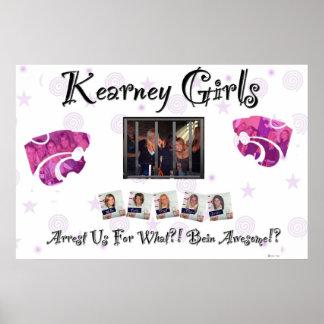 Chicas de Kearney Posters