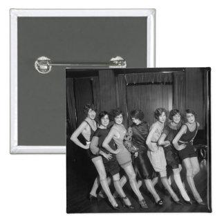 Chicas de la aleta: 1925 pin