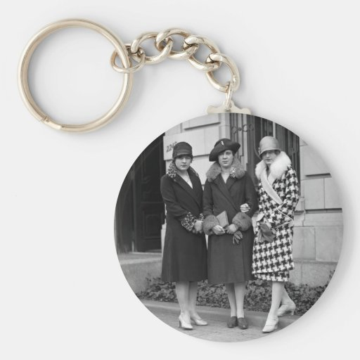Chicas de la aleta, los años 20 de los gorras del  llaveros