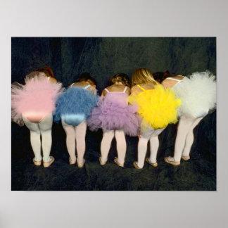 Chicas de la bailarina póster