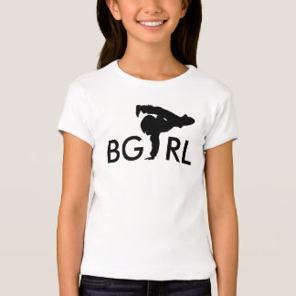 Chicas de la camiseta de la actitud del BGIRL