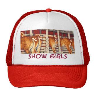 Chicas de la demostración - caballos de Belgin Gorra