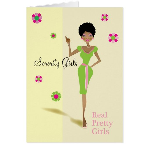 Chicas de la hermandad de mujeres tarjeta de felicitación