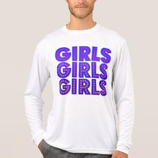 Chicas de los chicas de los chicas camisetas