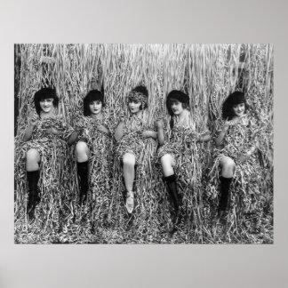 Chicas de Mack Sennett, los años 10 Impresiones