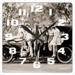 Chicas de Mack Sennett que bañan el vintage del Qu Relojes