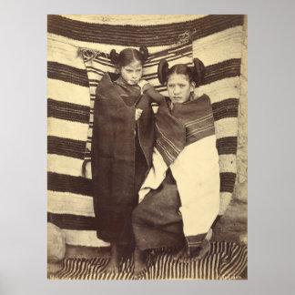 Chicas de Moki, 1879 Impresiones