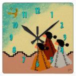 Chicas de Navajo Reloj