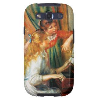 Chicas de Renoir en la caja de la galaxia s3 de Sa Galaxy S3 Funda
