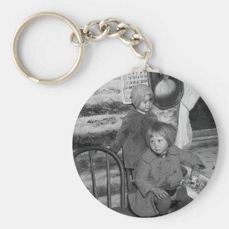 Chicas de Tipler Wisconsin, los años 30 Llavero Redondo Tipo Pin
