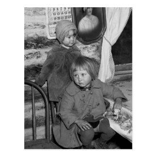 Chicas de Tipler Wisconsin, los años 30 Postal