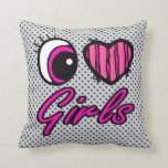Chicas del amor del corazón I del ojo de Emo