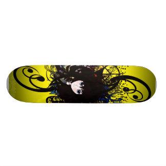 Chicas del animado skateboards