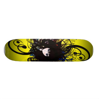 Chicas del animado skateboards