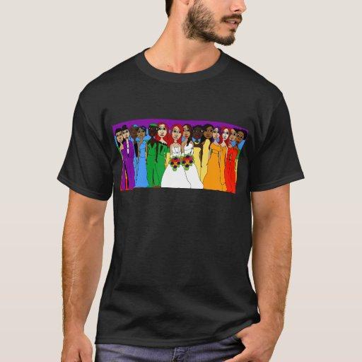 Chicas del arco iris playera