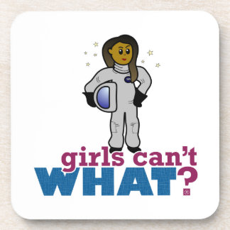 Chicas del astronauta posavasos