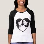 Chicas del corazón camiseta