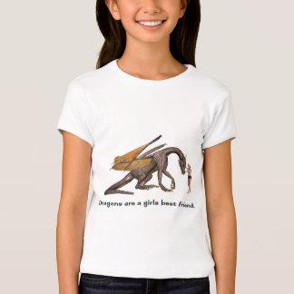 Chicas del dragón playera