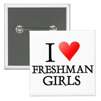 Chicas del estudiante de primer año del corazón I Pin