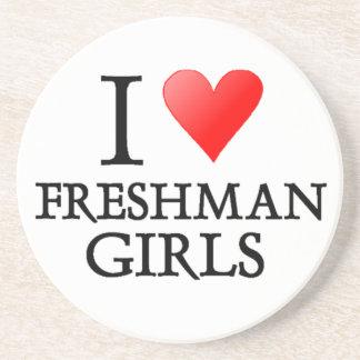 Chicas del estudiante de primer año del corazón I Posavaso Para Bebida
