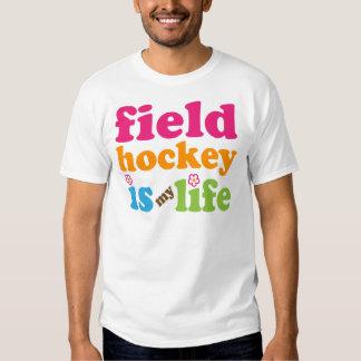 Chicas del regalo del jugador de hockey hierba playera