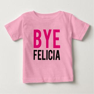 Chicas divertidos del rosa de la camisa del bebé