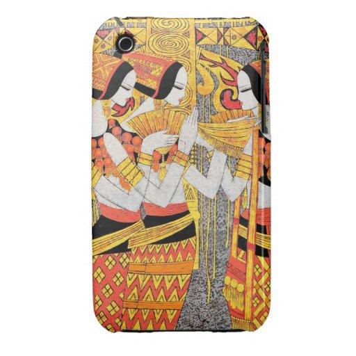 Chicas egipcios orientales de la mujer de las seño Case-Mate iPhone 3 coberturas