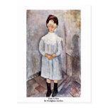 Chicas en azul de Modigliani Amedeo Postales