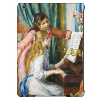 Chicas en la pintura de Pedro Auguste Renoir del Funda iPad Air
