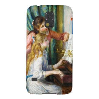 Chicas en la pintura de Pedro Auguste Renoir del p