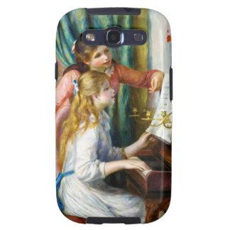 Chicas en la pintura de Pedro Auguste Renoir del p Galaxy S3 Cobertura