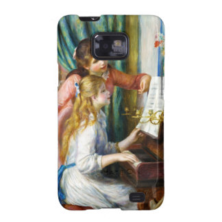 Chicas en la pintura de Pedro Auguste Renoir del p Galaxy S2 Funda