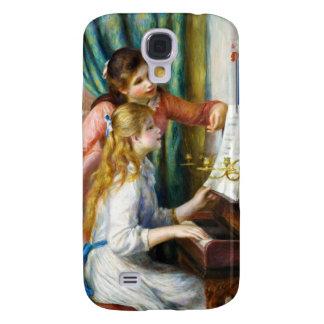 Chicas en la pintura de Pedro Auguste Renoir del Samsung Galaxy S4 Cover
