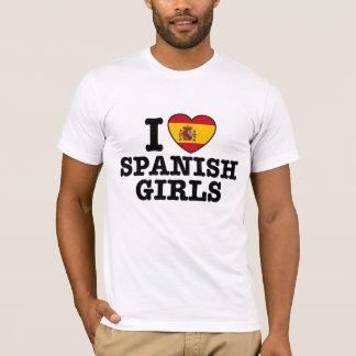 Chicas españoles playera