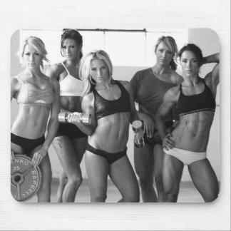 Chicas femeninos calientes de la aptitud mouse pads