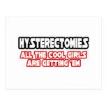 Chicas frescos de las histerectomias… postales