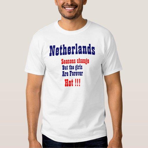 Chicas holandeses remera